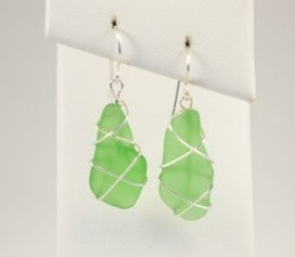 Sea Glass Jewelry Islands Art and Bookstore