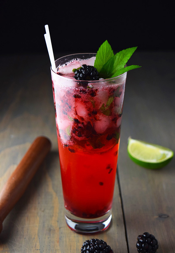 Recipe Blackberry Mojito