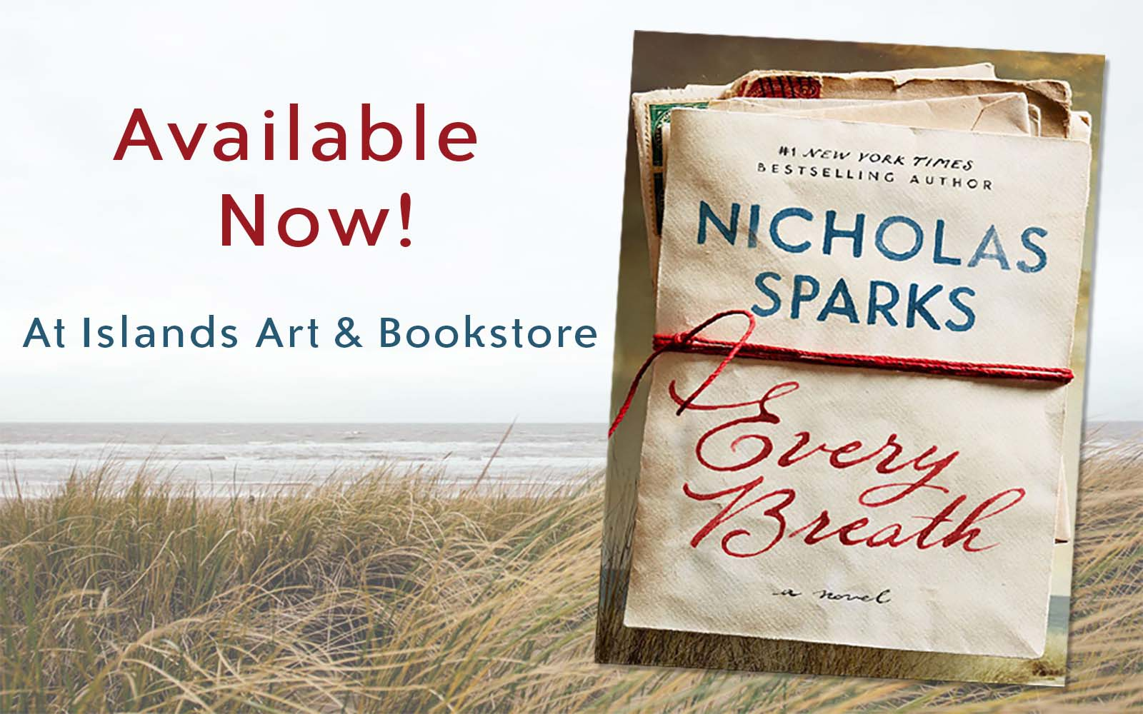 Nicholas Sparks Book Set in Sunset Beach Available for Pre-Order